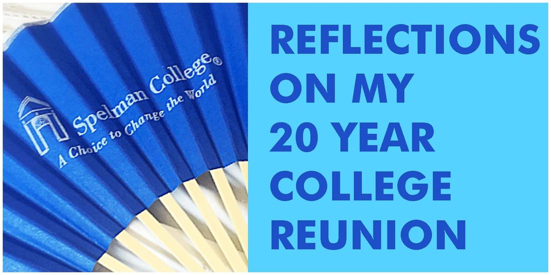 Reflections on my 20 year college reunion